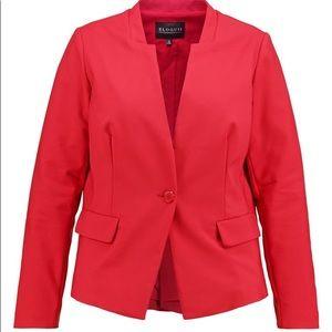 NWOT Eloquii Plus-size Red Blazer - Size 24